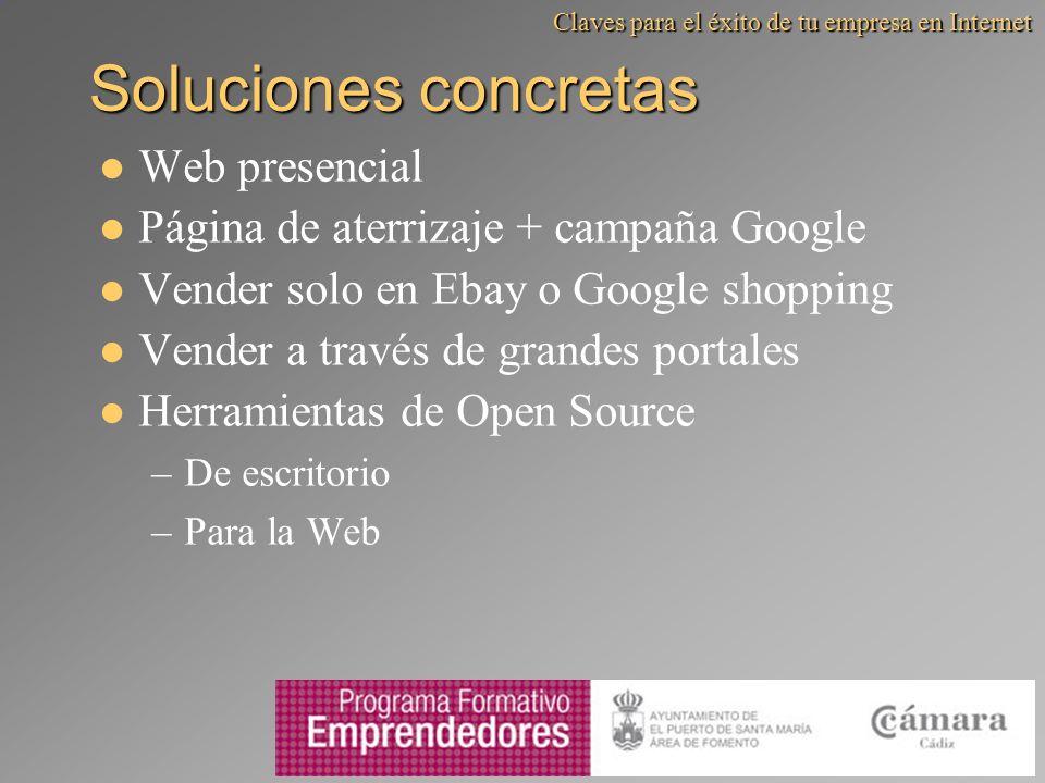 Soluciones concretas Web presencial