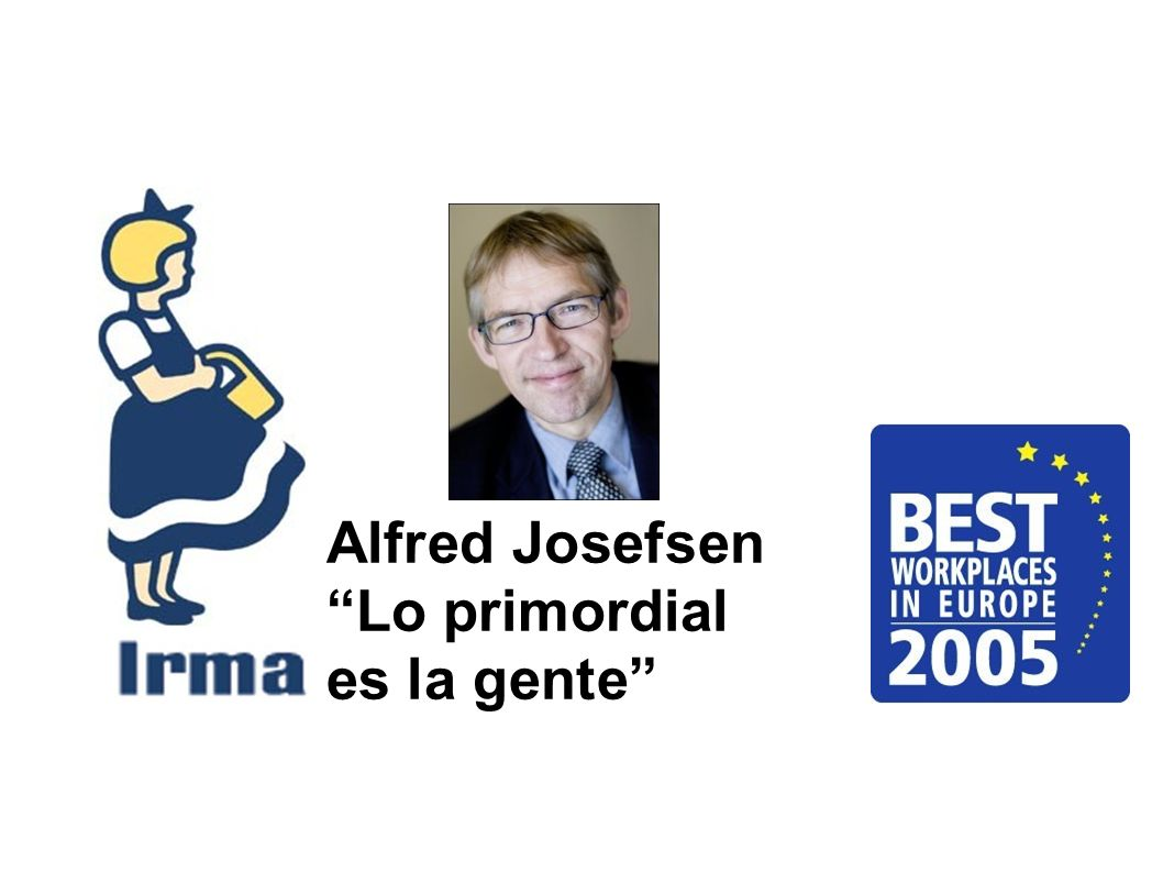 Alfred Josefsen Lo primordial es la gente