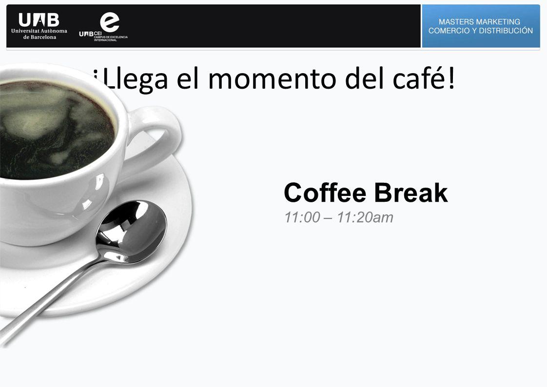 ¡Llega el momento del café!