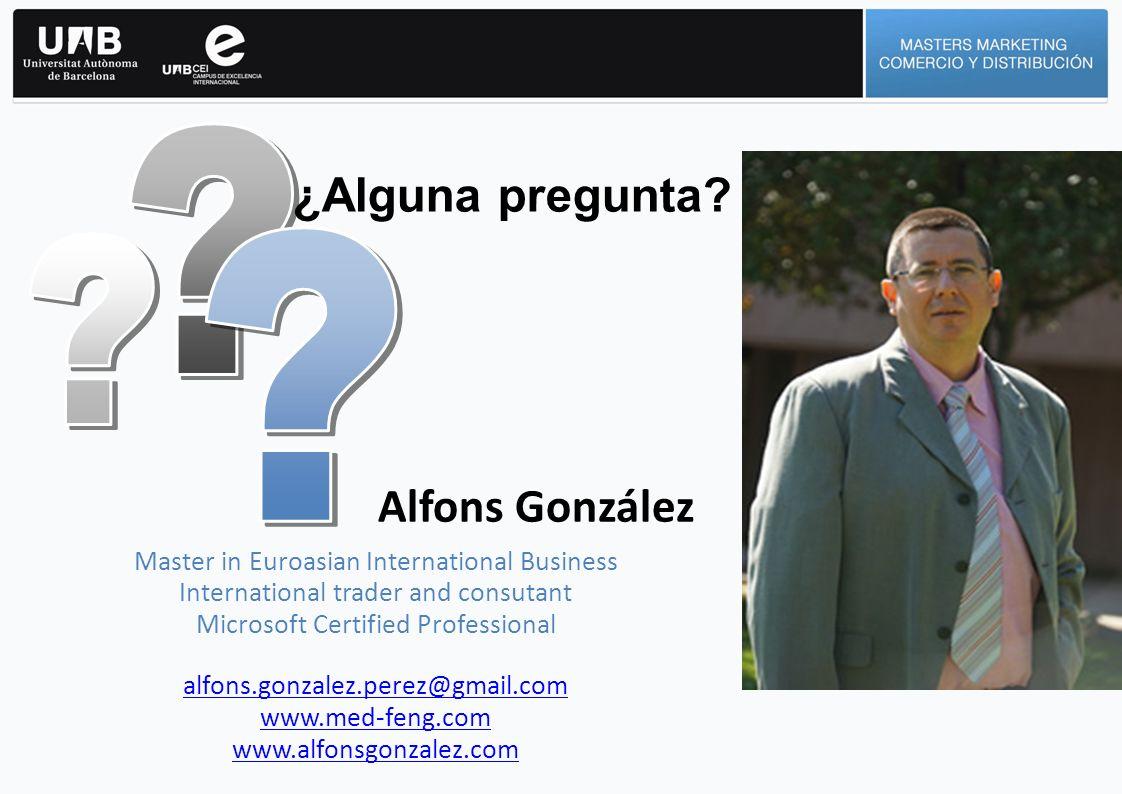 ¿Alguna pregunta Alfons González