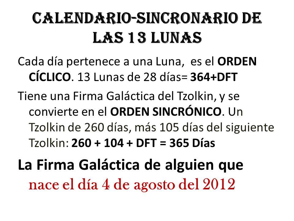 Calendario-Sincronario de las 13 Lunas