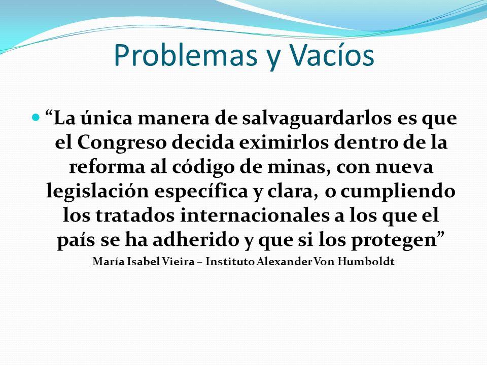María Isabel Vieira – Instituto Alexander Von Humboldt
