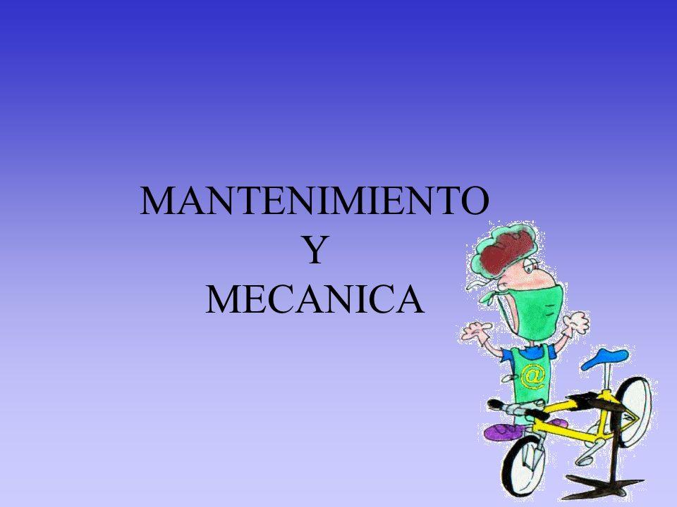 MANTENIMIENTO Y MECANICA