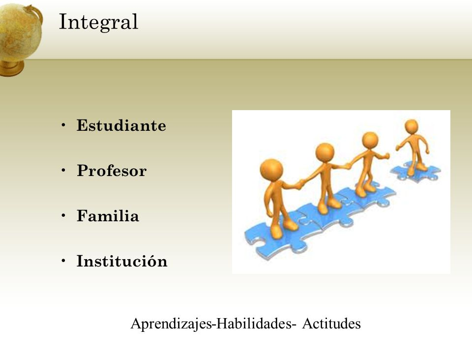 Aprendizajes-Habilidades- Actitudes