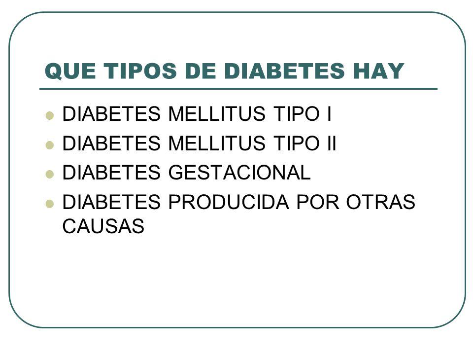 CUIDADOS DE ENFERMERIA A LA PERSONA CON DIABETES - ppt