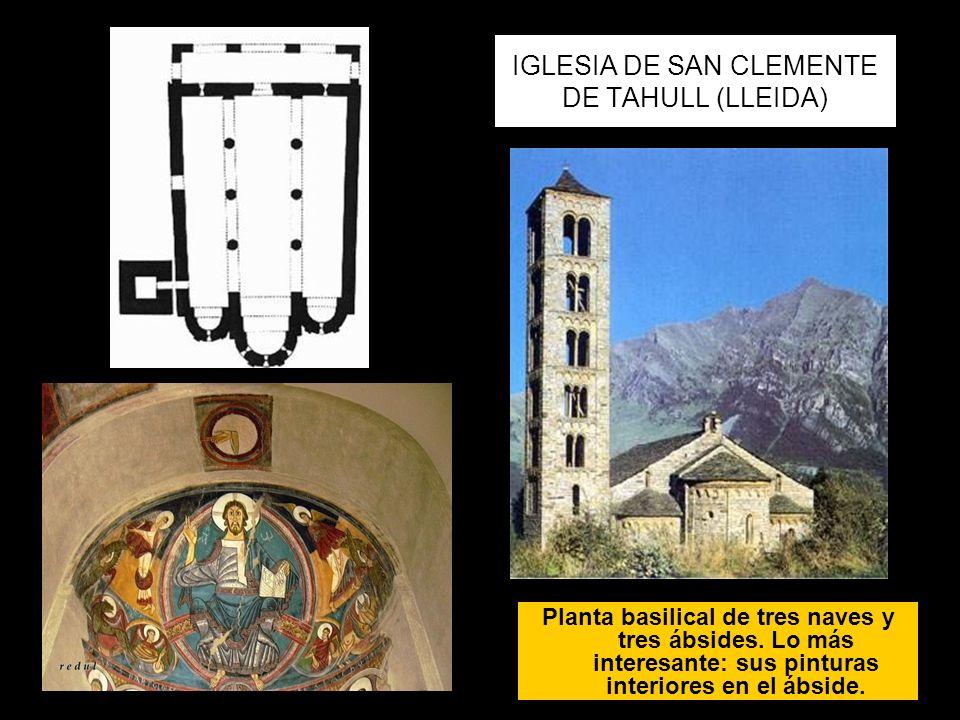 IGLESIA DE SAN CLEMENTE DE TAHULL (LLEIDA)