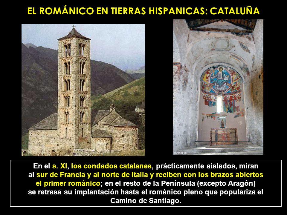 EL ROMÁNICO EN TIERRAS HISPANICAS: CATALUÑA