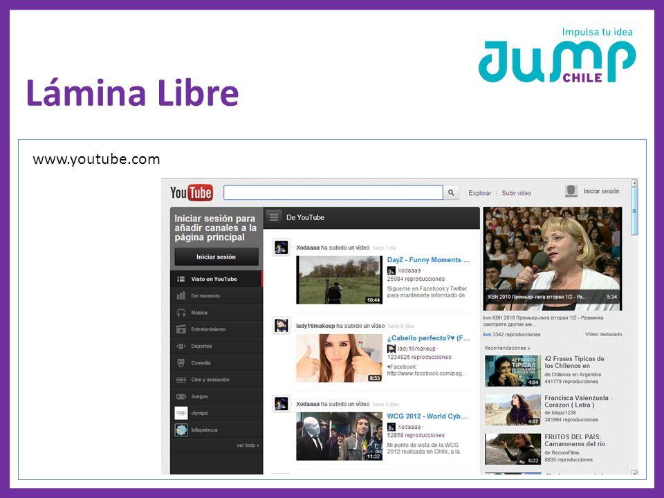 Lámina Libre www.youtube.com