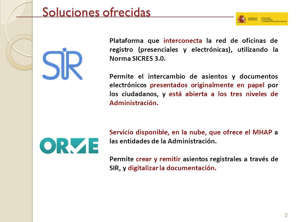 Interconexi n de registros entre administraciones p blicas for Registro oficina virtual