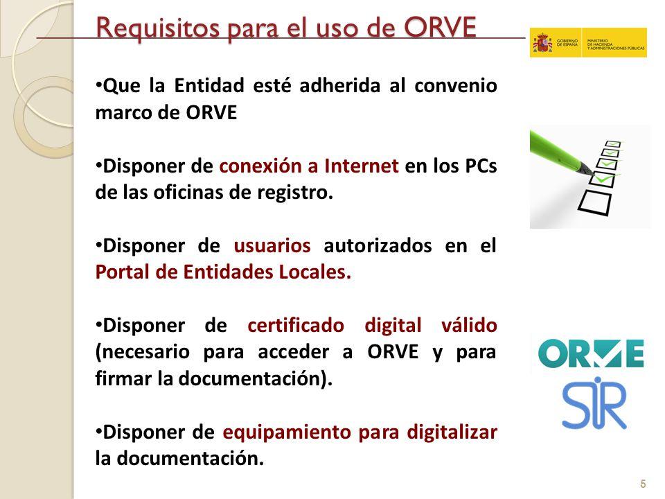 Interconexi n de registros entre administraciones p blicas la oficina de registro virtual de - Oficina virtual entidades locales ...
