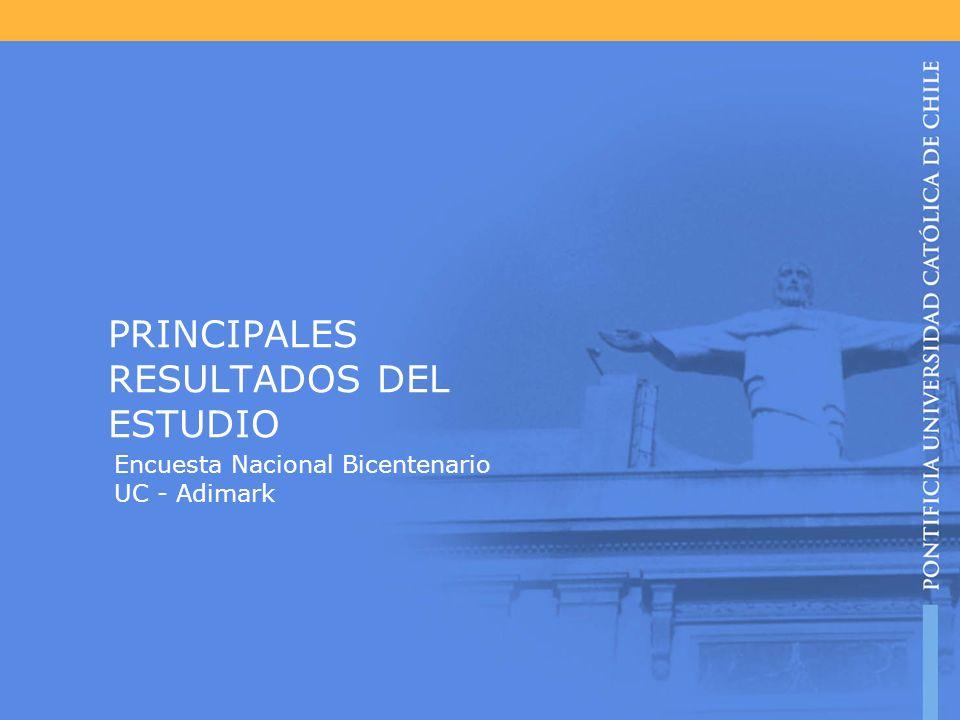 PRINCIPALES RESULTADOS DEL ESTUDIO