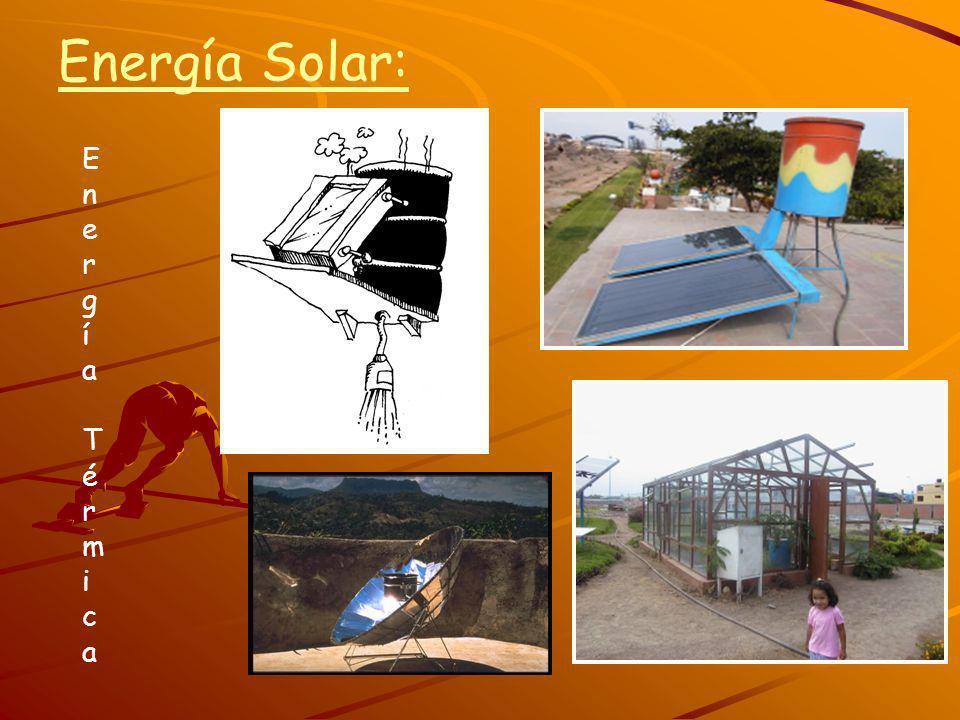 Energía Solar: Energía Térmica