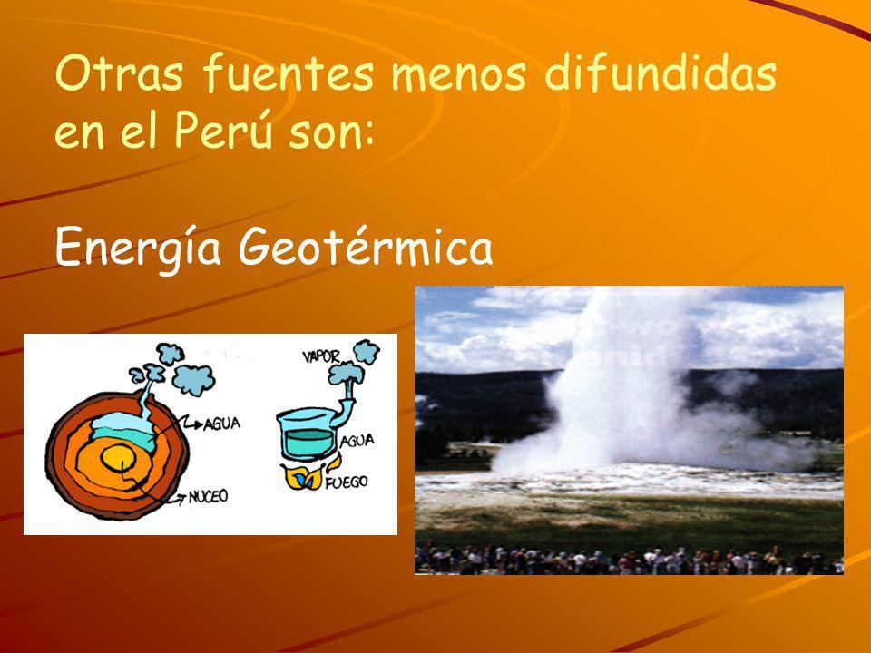 Otras fuentes menos difundidas en el Perú son: