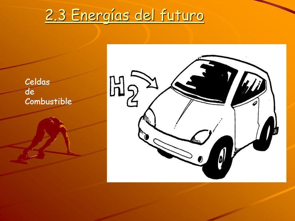 2.3 Energías del futuro Celdas de Combustible