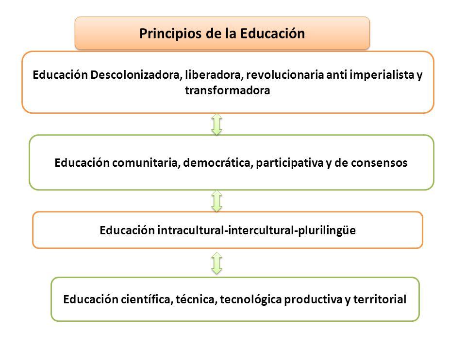 Principios de la Educación