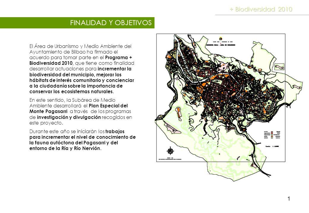 FINALIDAD Y OBJETIVOS + Biodiversidad 2010