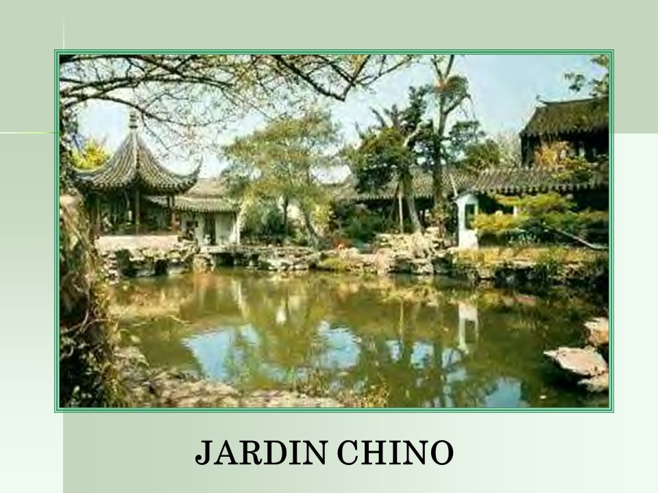 Jardin chino ppt descargar for Jardin chino