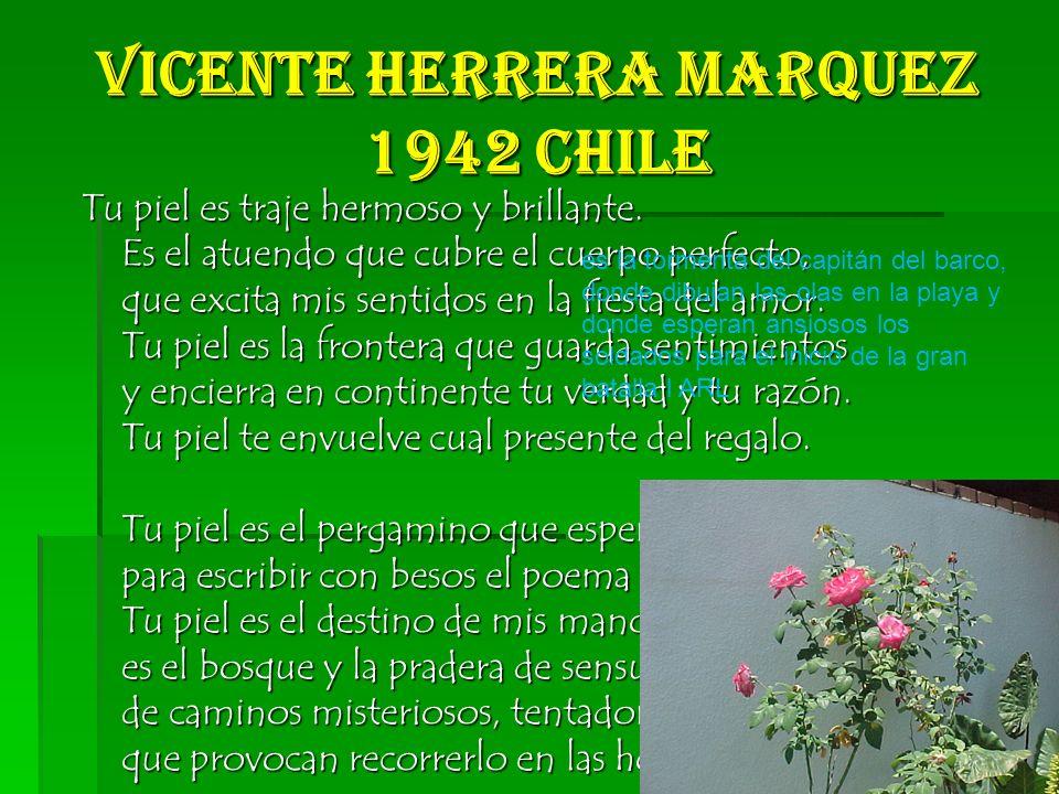 Vicente Herrera Marquez 1942 Chile