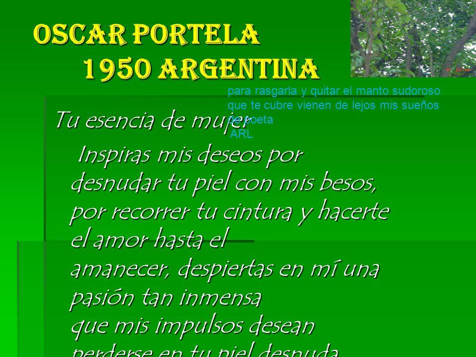 Oscar Portela 1950 Argentina