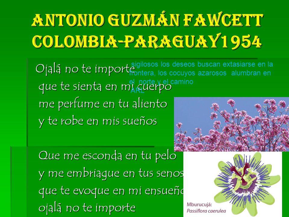 Antonio Guzmán Fawcett Colombia-Paraguay1954