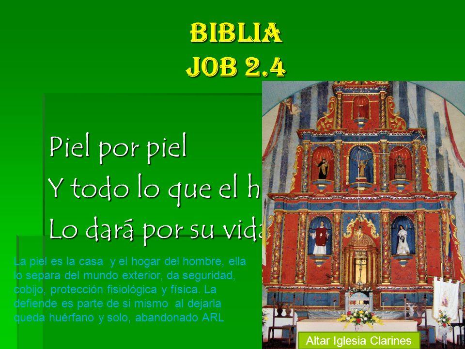 Altar Iglesia Clarines