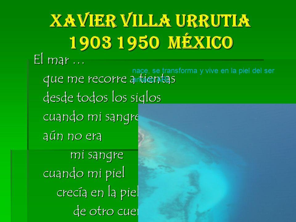 Xavier Villa Urrutia 1903 1950 México
