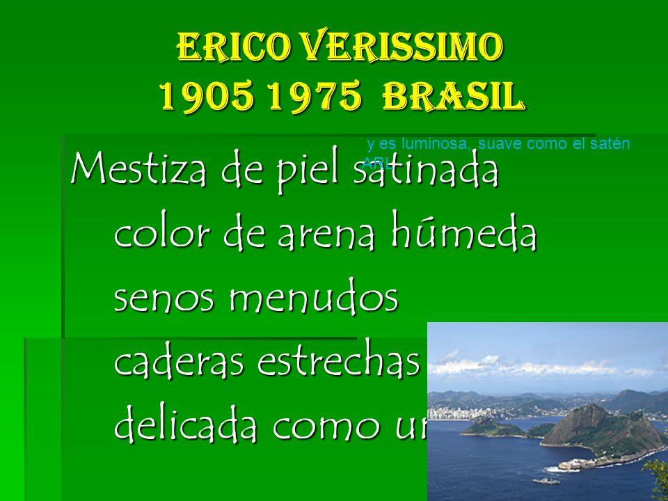 Erico Verissimo 1905 1975 Brasil