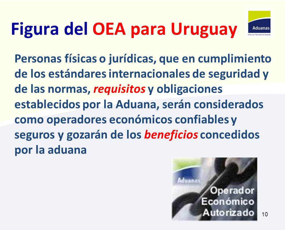 Figura del OEA para Uruguay