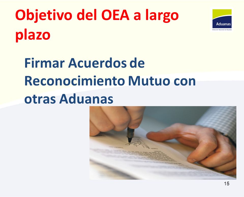 Objetivo del OEA a largo plazo
