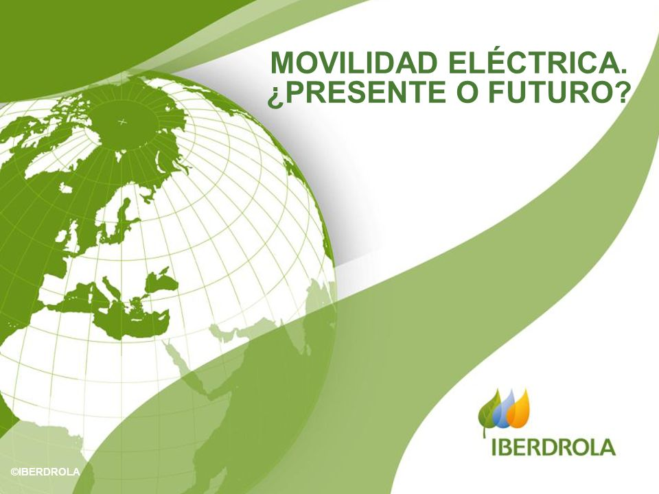 MOVILIDAD ELÉCTRICA. ¿PRESENTE O FUTURO