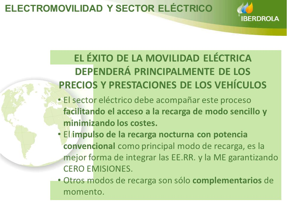 ELECTROMOVILIDAD Y SECTOR ELÉCTRICO