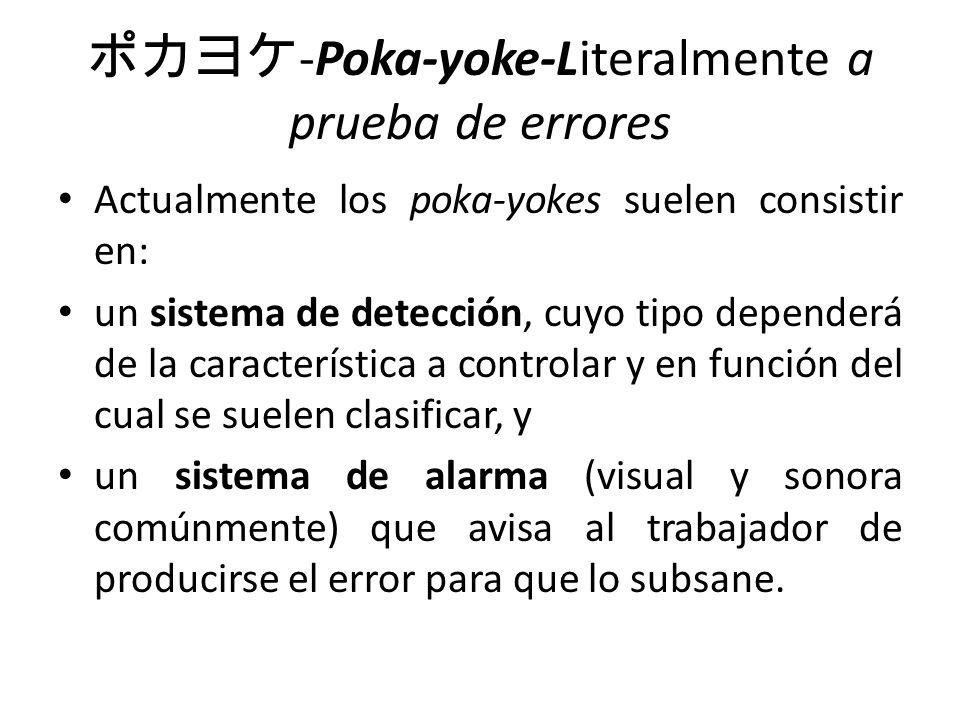 ポカヨケ-Poka-yoke-Literalmente a prueba de errores