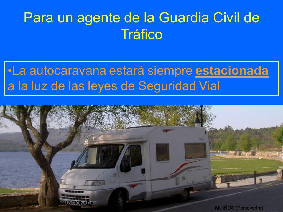 Para un agente de la Guardia Civil de Tráfico