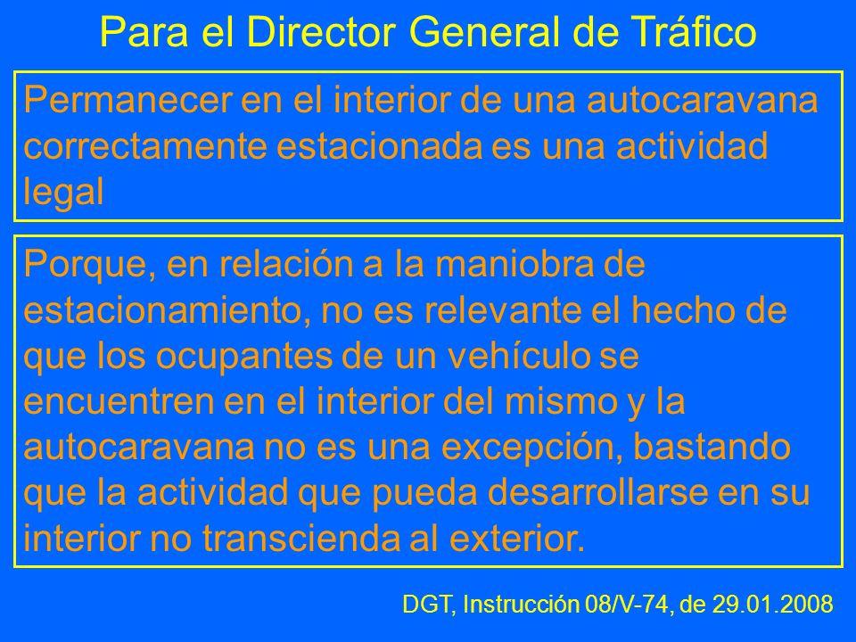 Para el Director General de Tráfico
