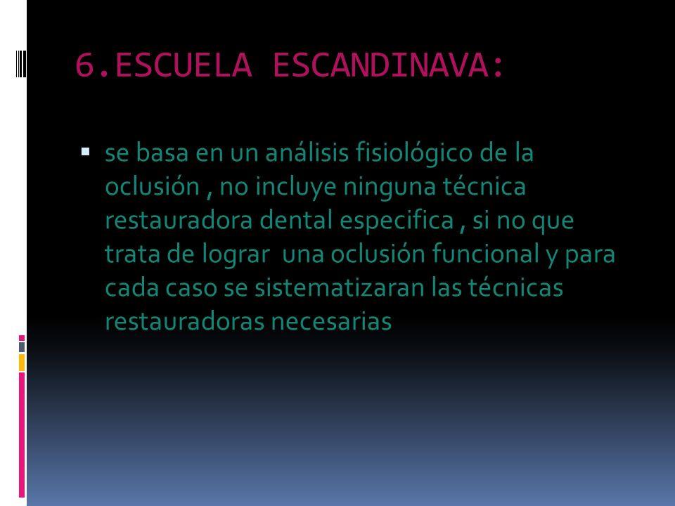 6.ESCUELA ESCANDINAVA: