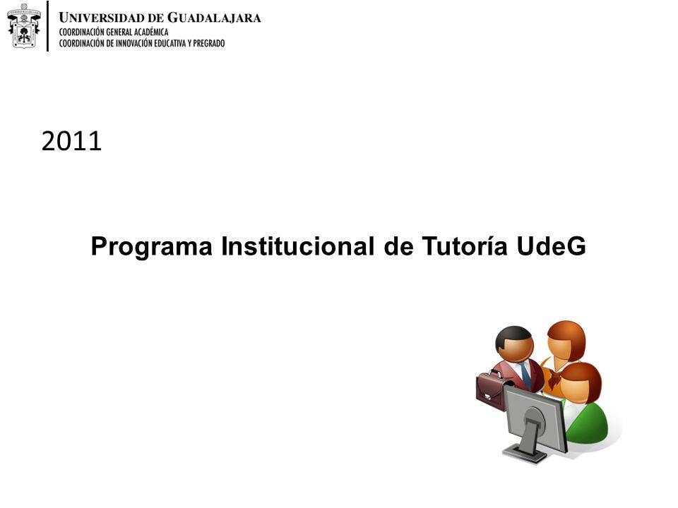 Programa Institucional de Tutoría UdeG