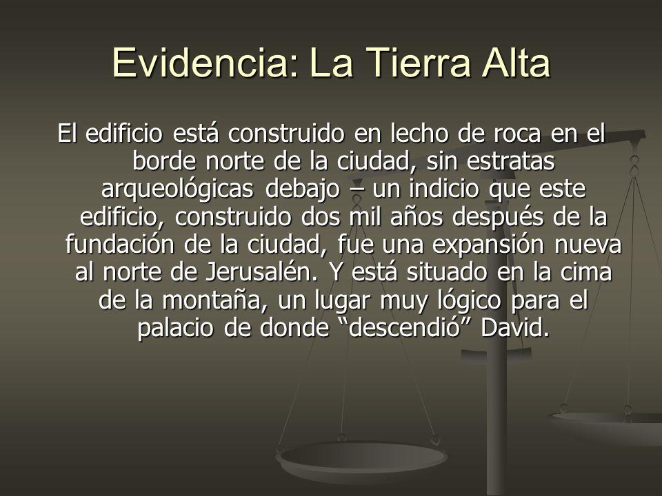 Evidencia: La Tierra Alta