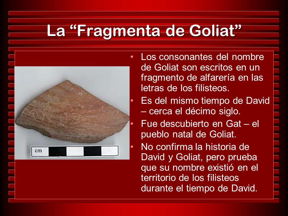 La Fragmenta de Goliat