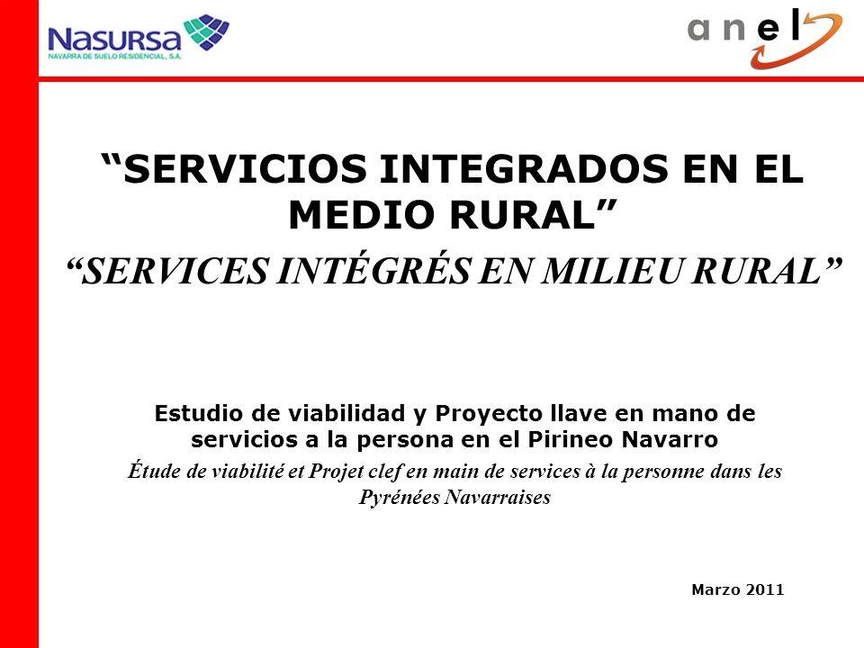 SERVICIOS INTEGRADOS EN EL MEDIO RURAL