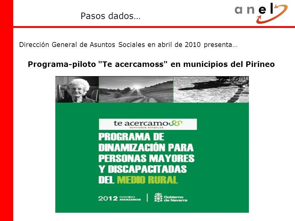 Programa-piloto Te acercamoss en municipios del Pirineo