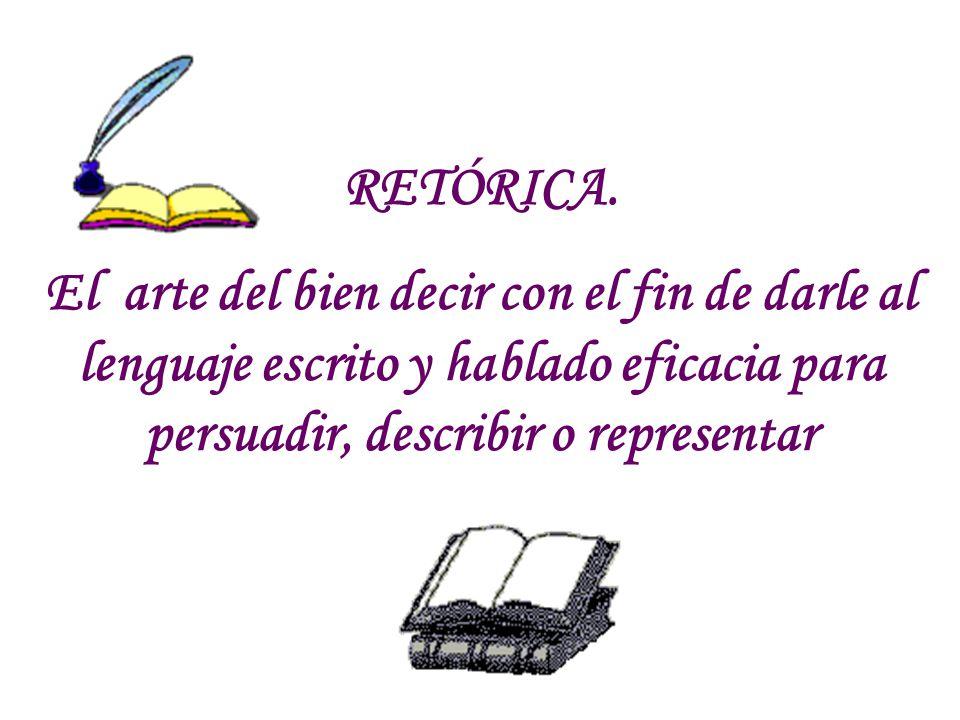 RETÓRICA.