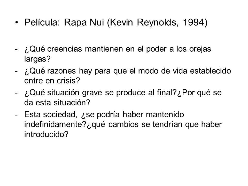 Película: Rapa Nui (Kevin Reynolds, 1994)