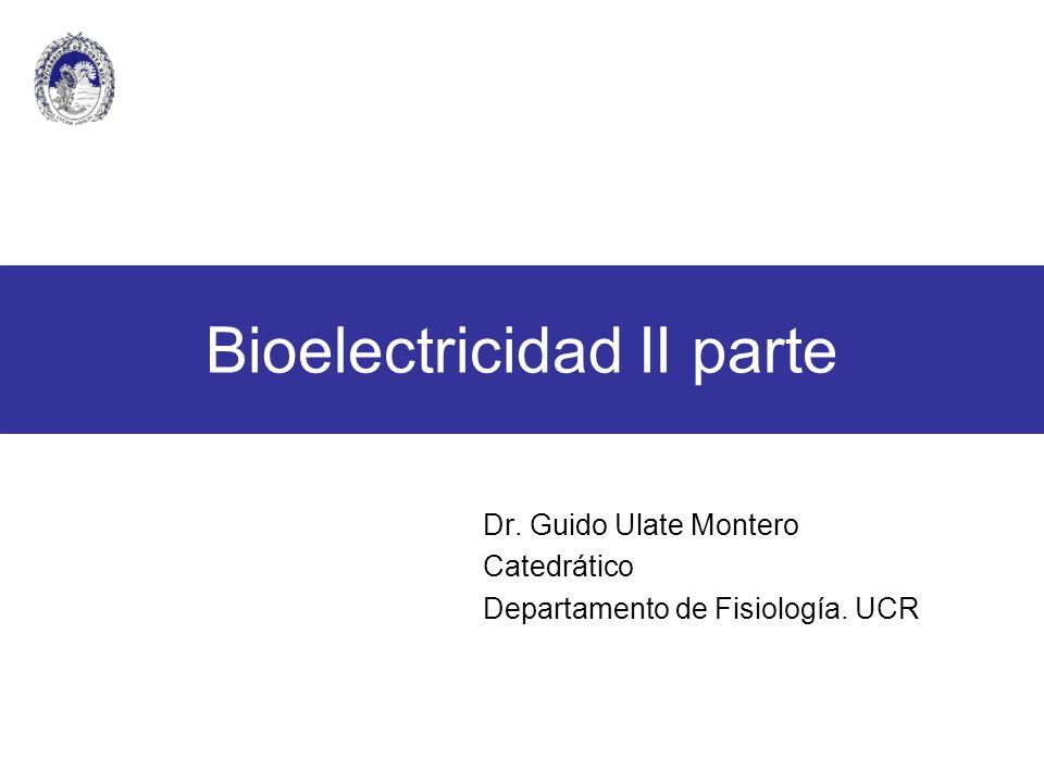 Bioelectricidad II parte