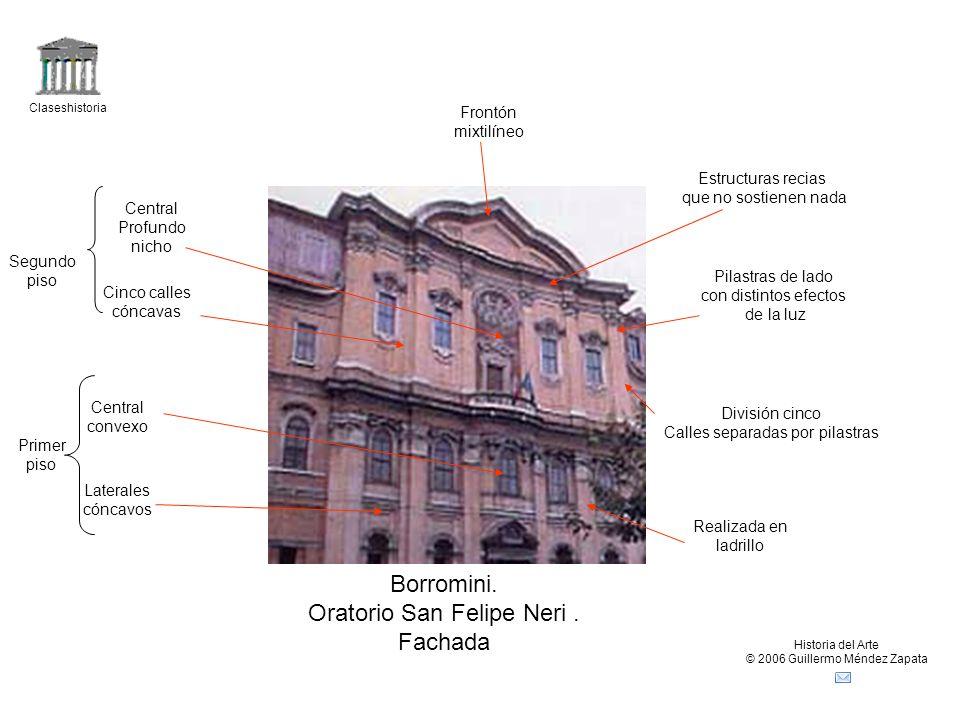 Oratorio San Felipe Neri . Fachada