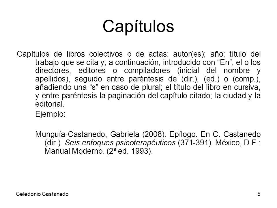 Capítulos