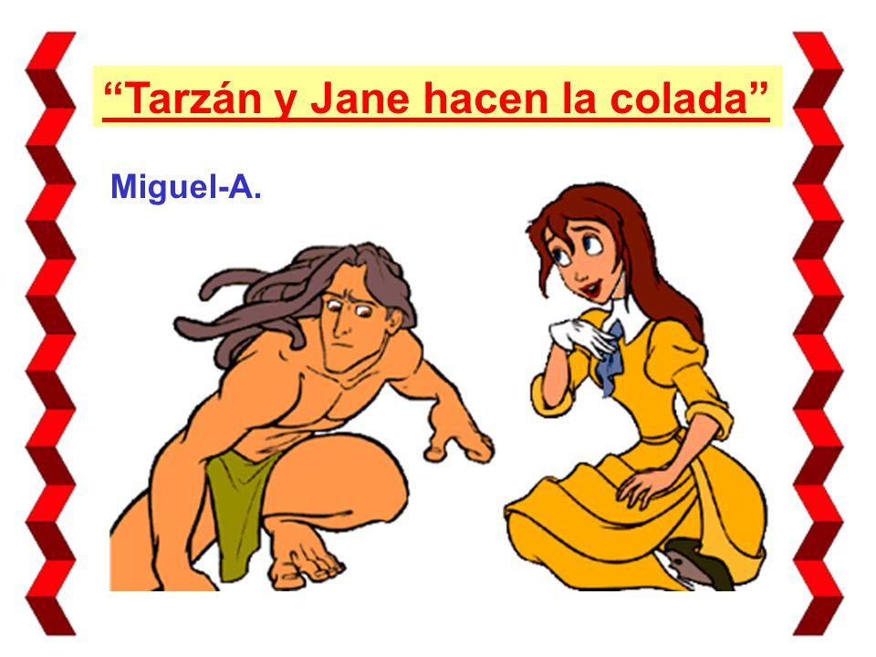 Tarzán y Jane hacen la colada