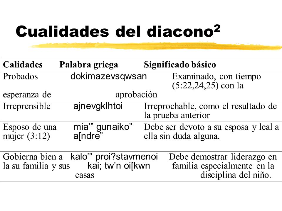 Cualidades del diacono2