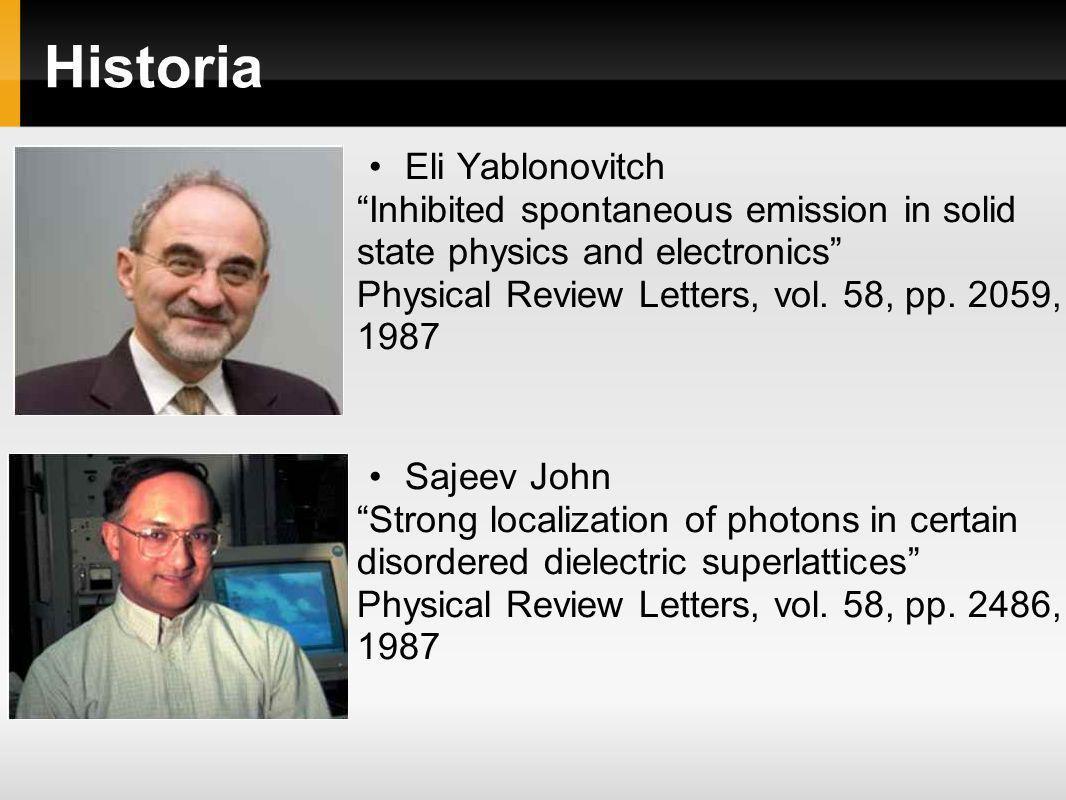Historia Eli Yablonovitch