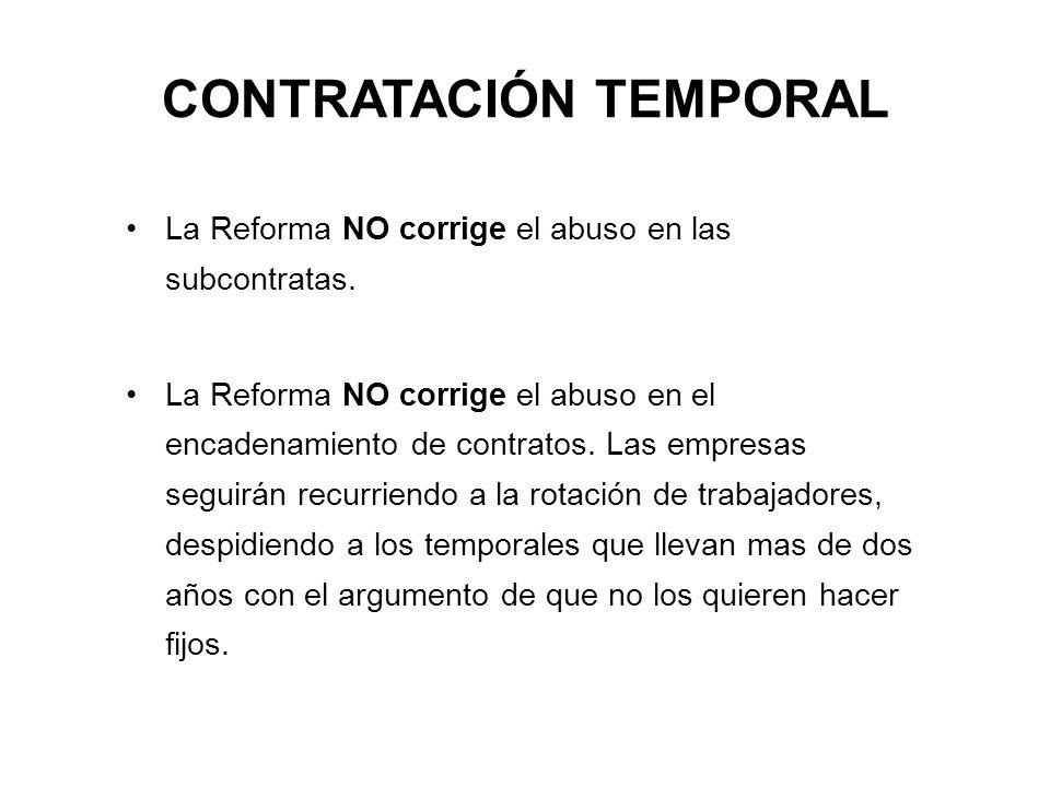 CONTRATACIÓN TEMPORAL