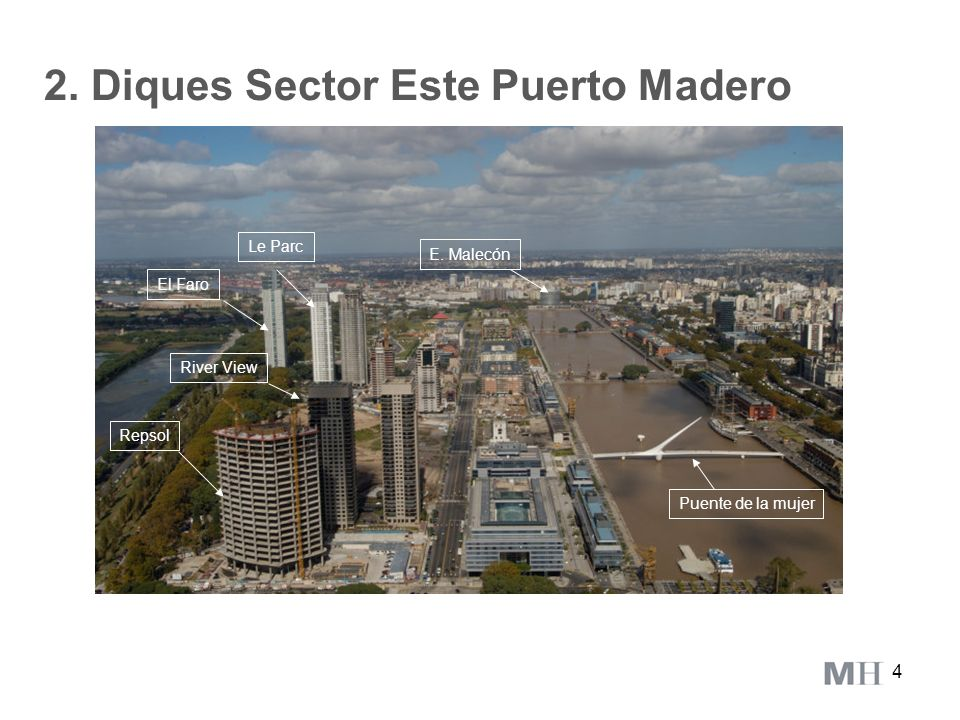 2. Diques Sector Este Puerto Madero